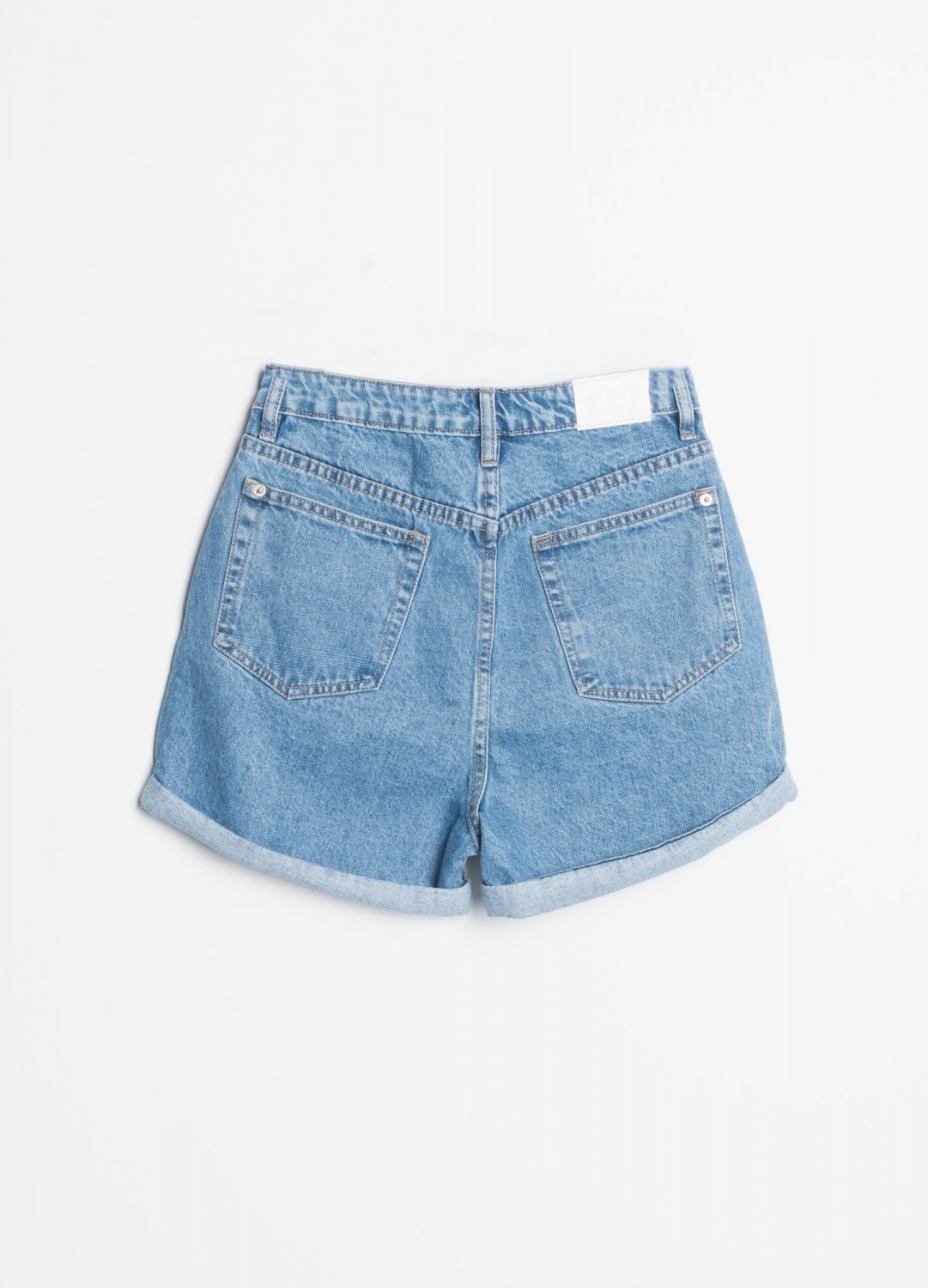 MOM FIT SHORTS JEANS